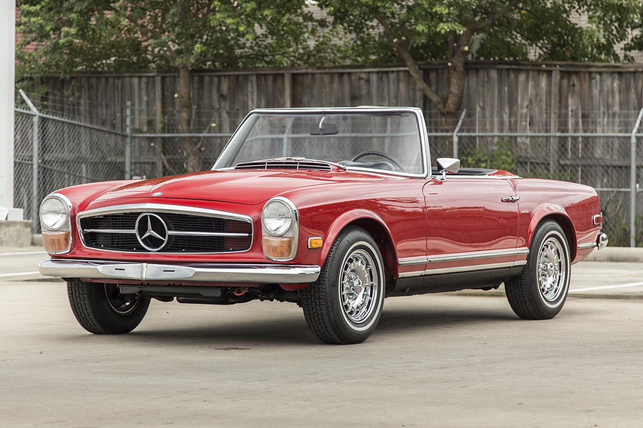 1968 Mercedes Benz 250 SL
