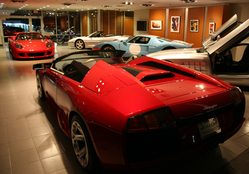 Motorcars International Showroom Springfield Mo