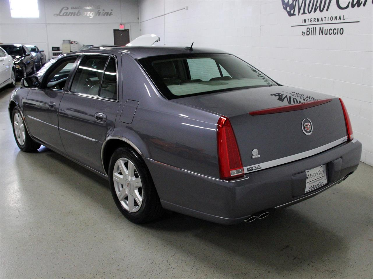 dts inventory cadillac owned blue for auto sale pre luxury
