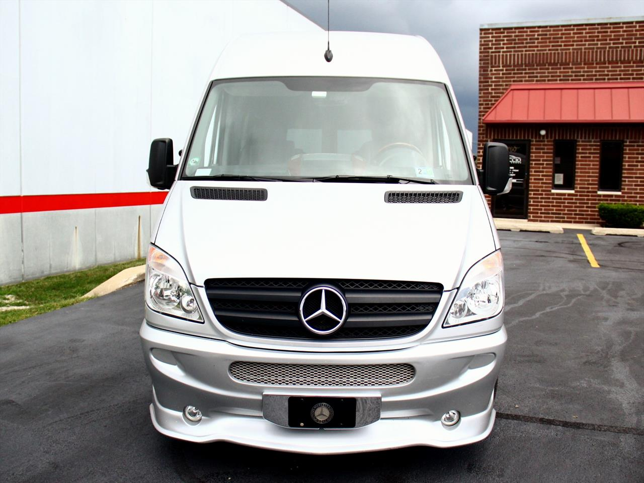 2009 mercedes benz sprinter 2500 for Mercedes benz sprinter 2500 mpg