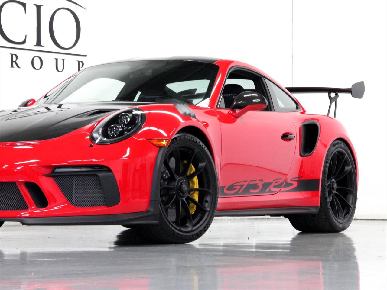 2019 Porsche 911 Gt3 Rs W Weissach Package