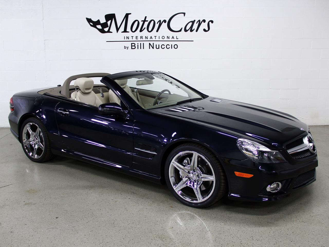 2009 mercedes benz sl 550 roadster for Mercedes benz sl roadster