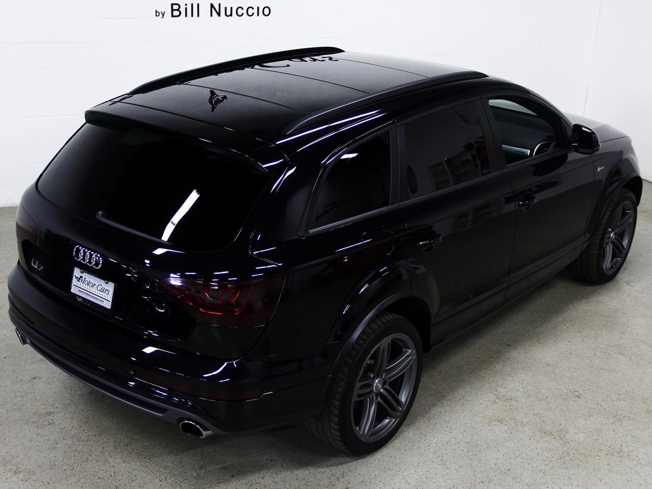2013 Audi Q7 S Line Prestige Quattro