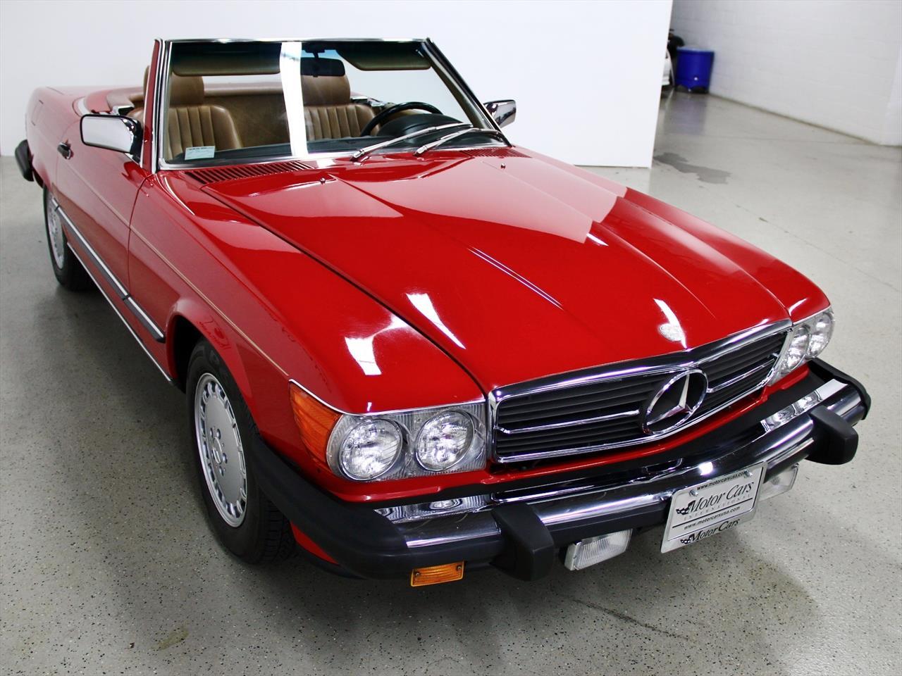 1987 mercedes benz 560 sl for Mercedes benz 560 sl