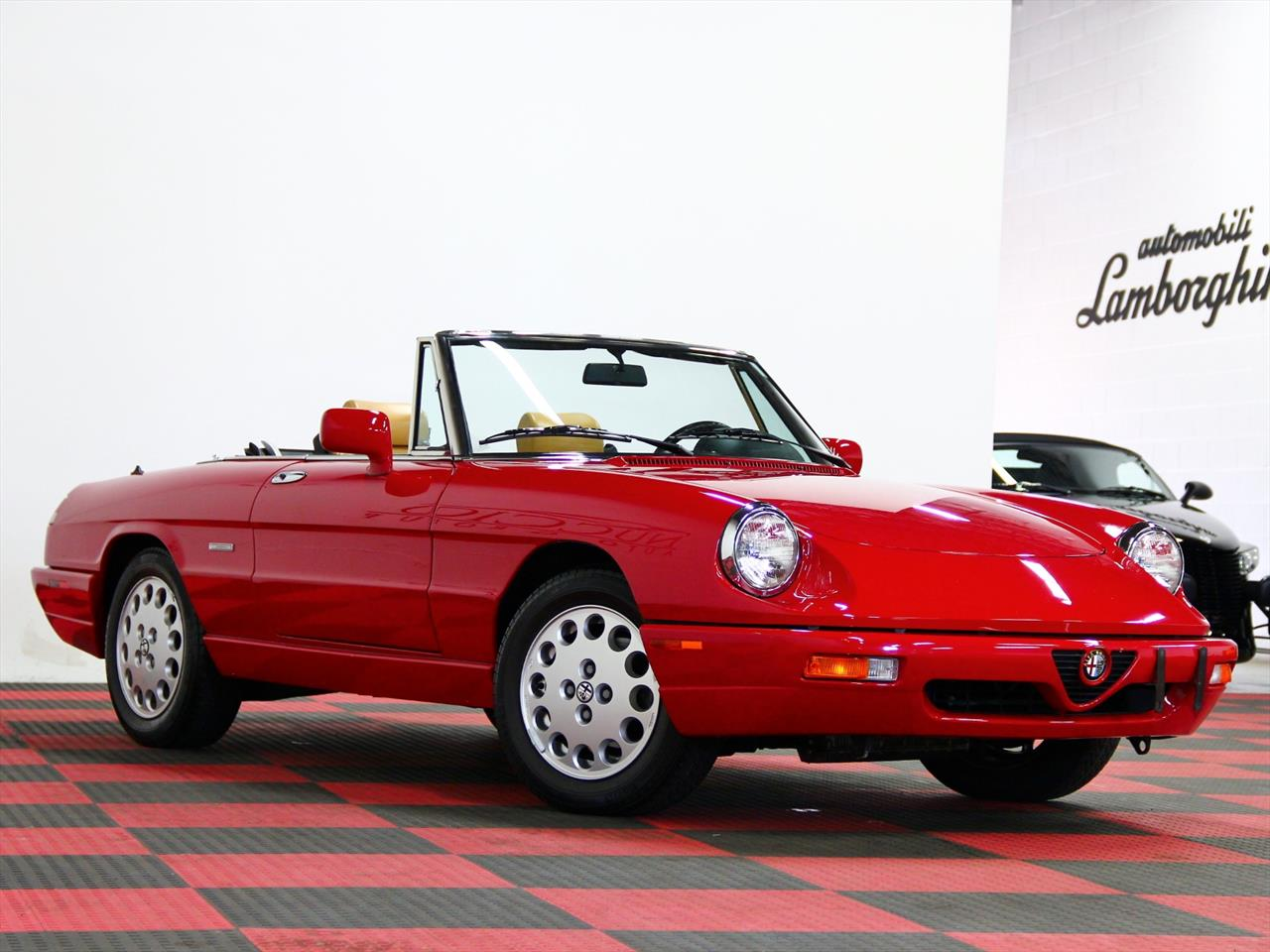 1991 alfa romeo spider veloce. Black Bedroom Furniture Sets. Home Design Ideas