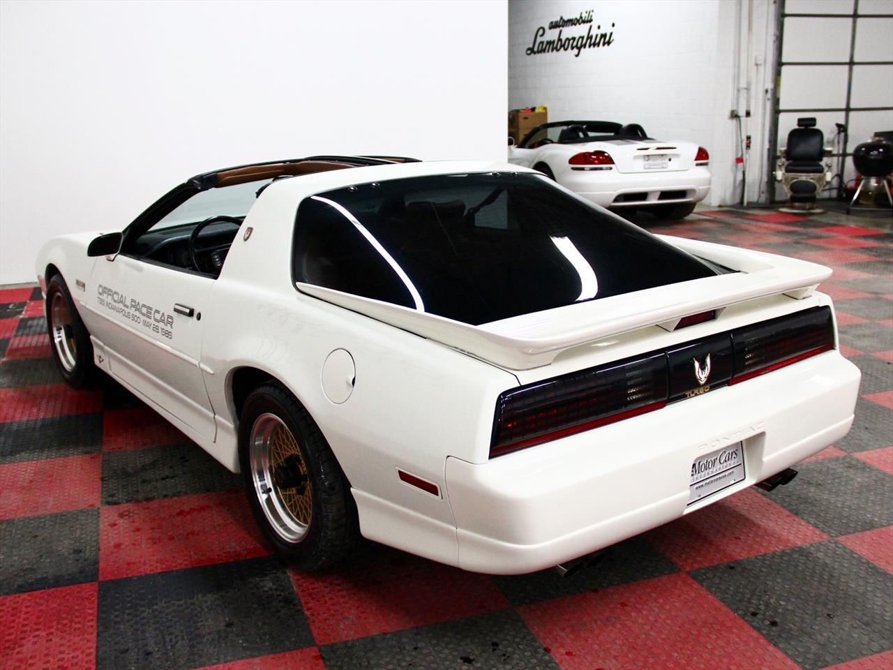 1989 pontiac firebird trans am pace car. Black Bedroom Furniture Sets. Home Design Ideas