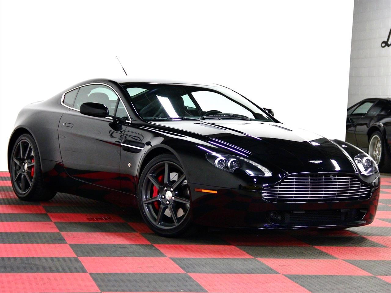 2006 aston martin vantage v8 coupe. Black Bedroom Furniture Sets. Home Design Ideas