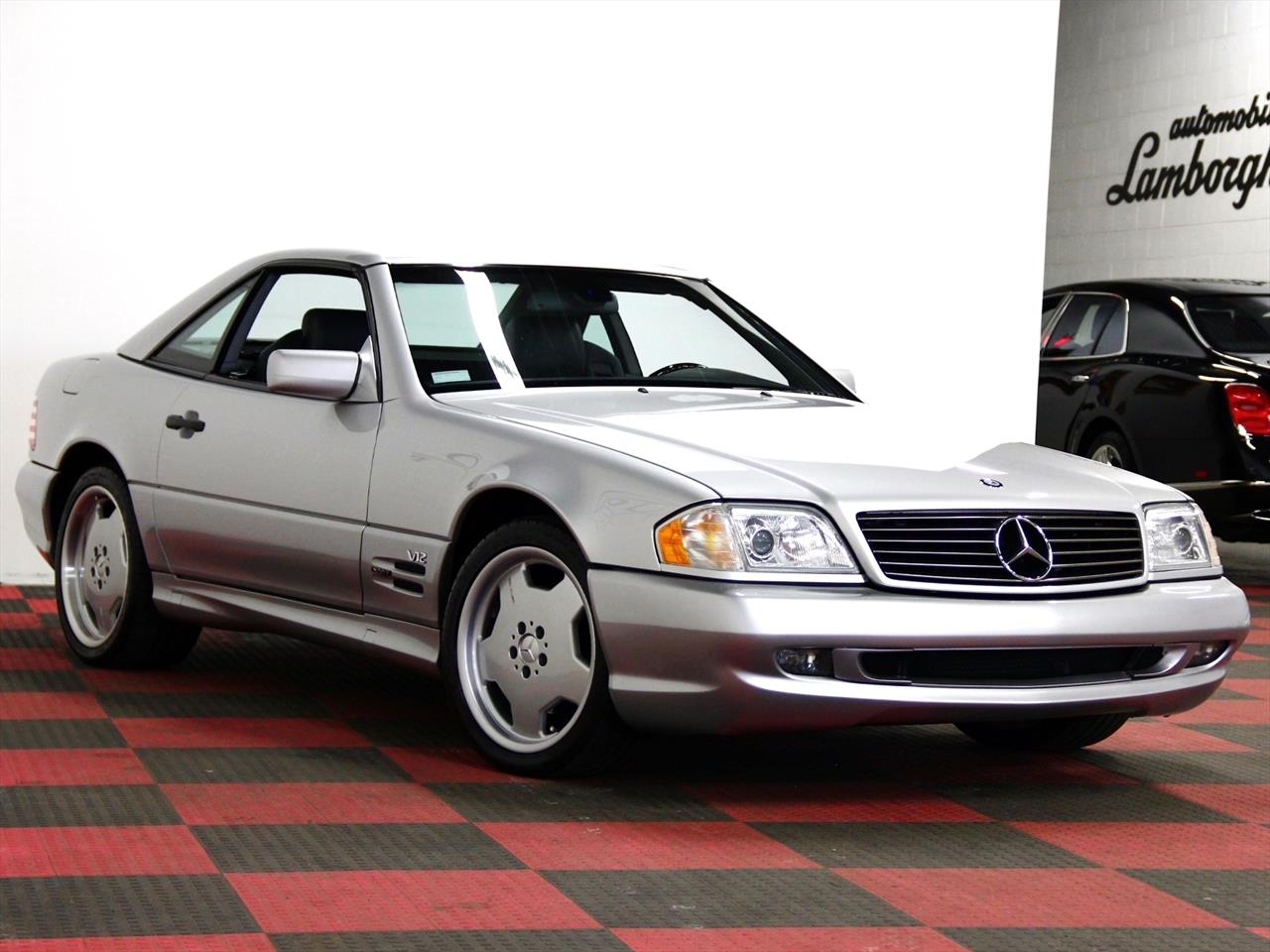 1998 mercedes benz sl 600. Black Bedroom Furniture Sets. Home Design Ideas