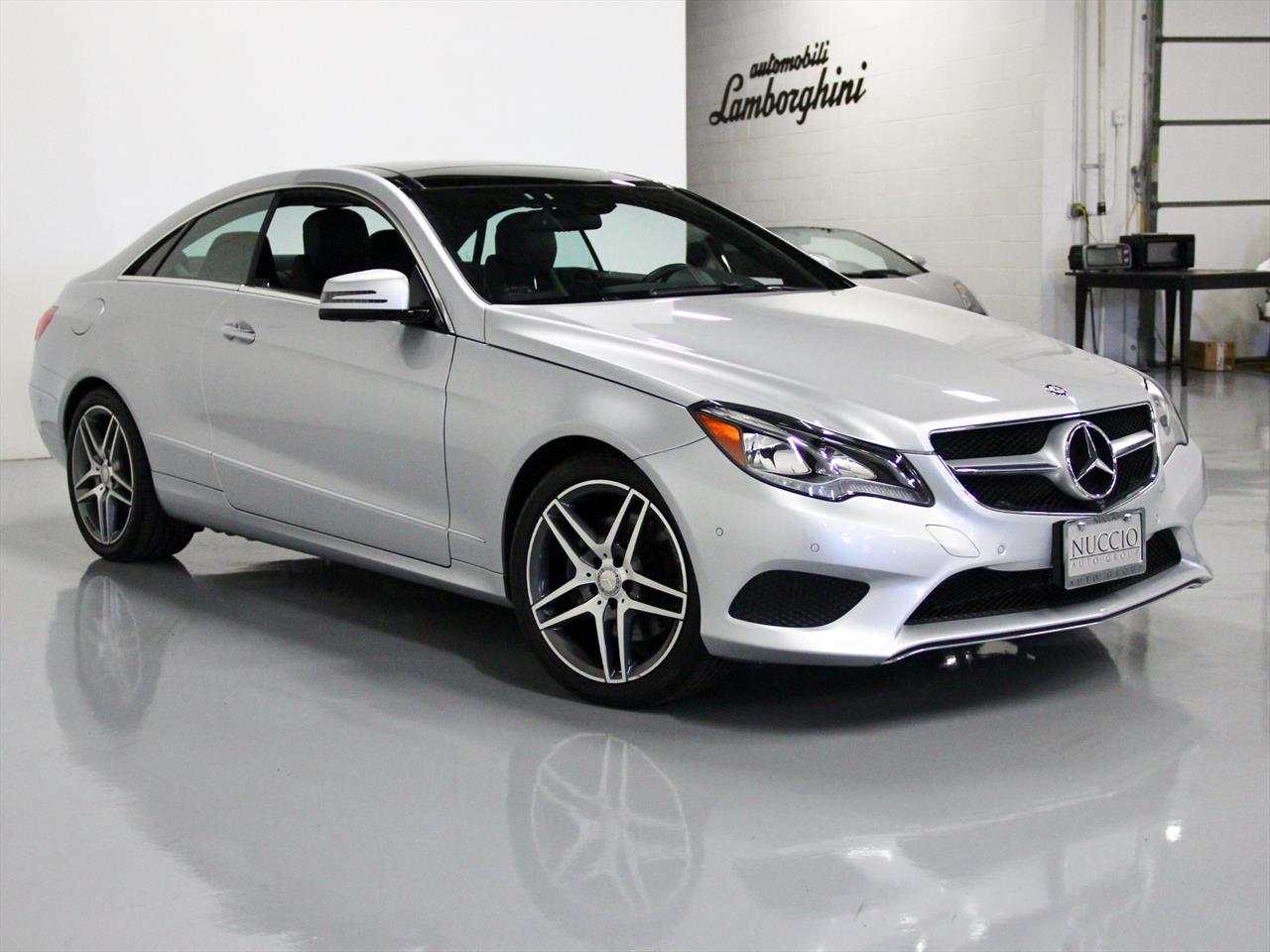 2014 Mercedes Benz E350 4Matic Coupe