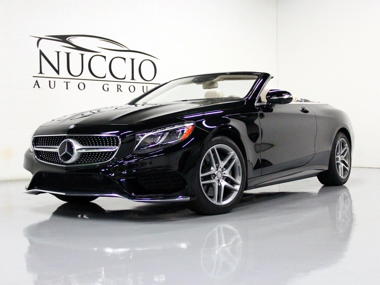 2017 Mercedes Benz S550 Convertible