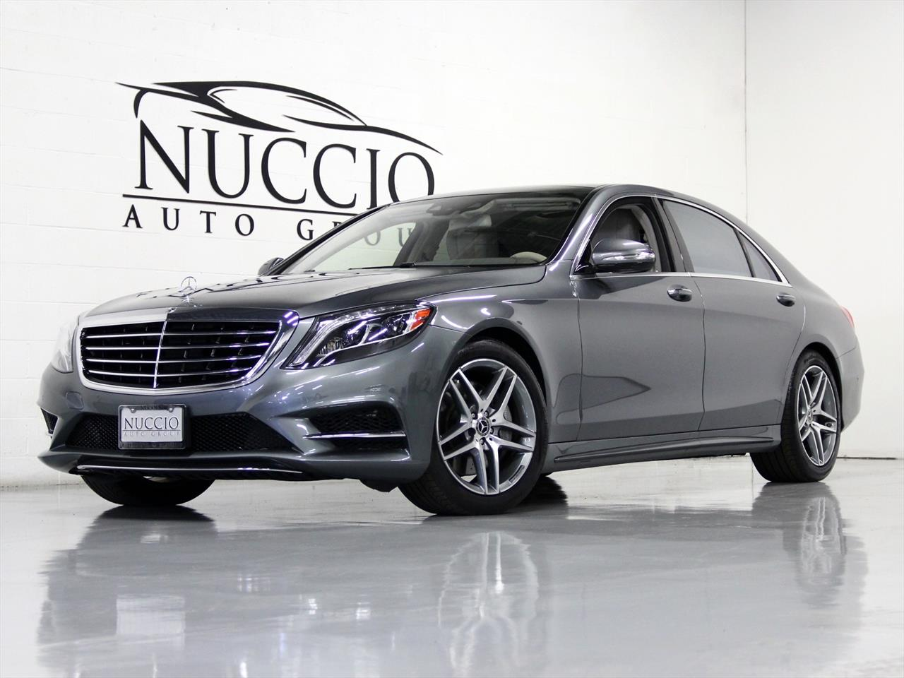 2017 Mercedes Benz S550 4Matic
