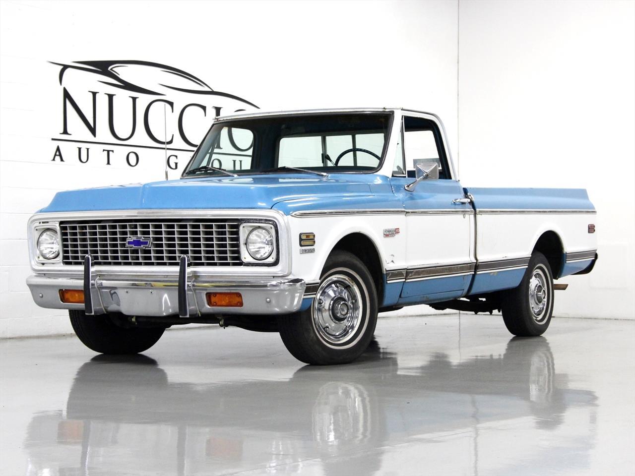 1972 Chevrolet Cheyenne Super 10 Pickup