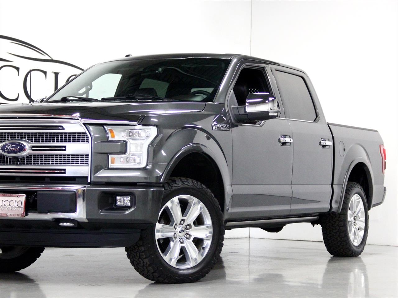 2015 Ford F150 Supercrew Platinum